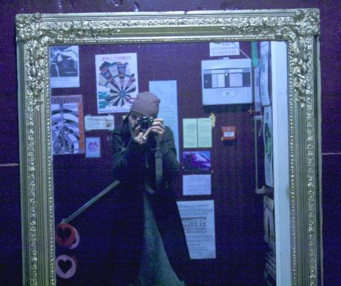 photographing myself sometimes - nov 2008